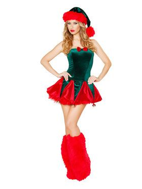 Naughty Elf Costume for Women