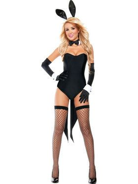 Sexy Naughty Nights Bunny Womens Costume