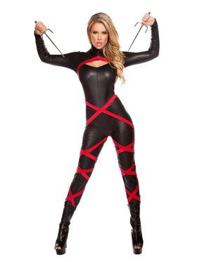Sexy Naughty Ninja Women's Costume