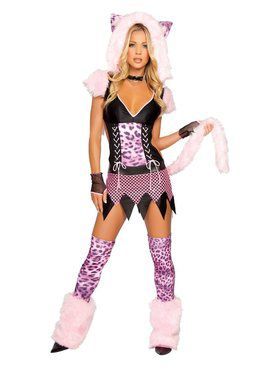 Sexy Naughty Pussycat Adult Costume