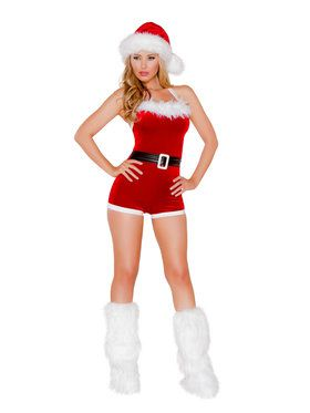 North Pole Brat Costume for Adults
