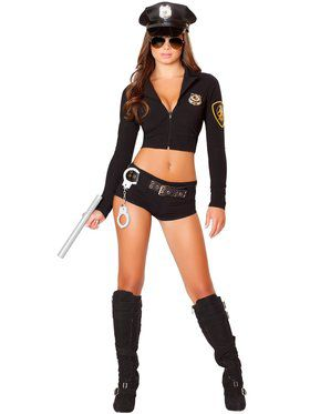 Sexy Officer Hottie Womens Costume