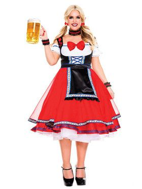 Sexy Adult Oktoberfest Beer Girl Costume