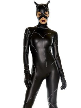 Sexy On The Prowl Catsuit Women's Costume