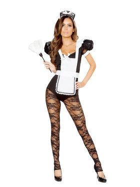 Sexy Parlor Maid Hottie Costume