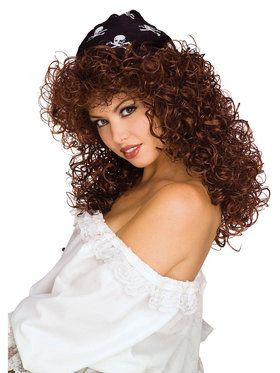 Sexy Pirate Wig For Adults