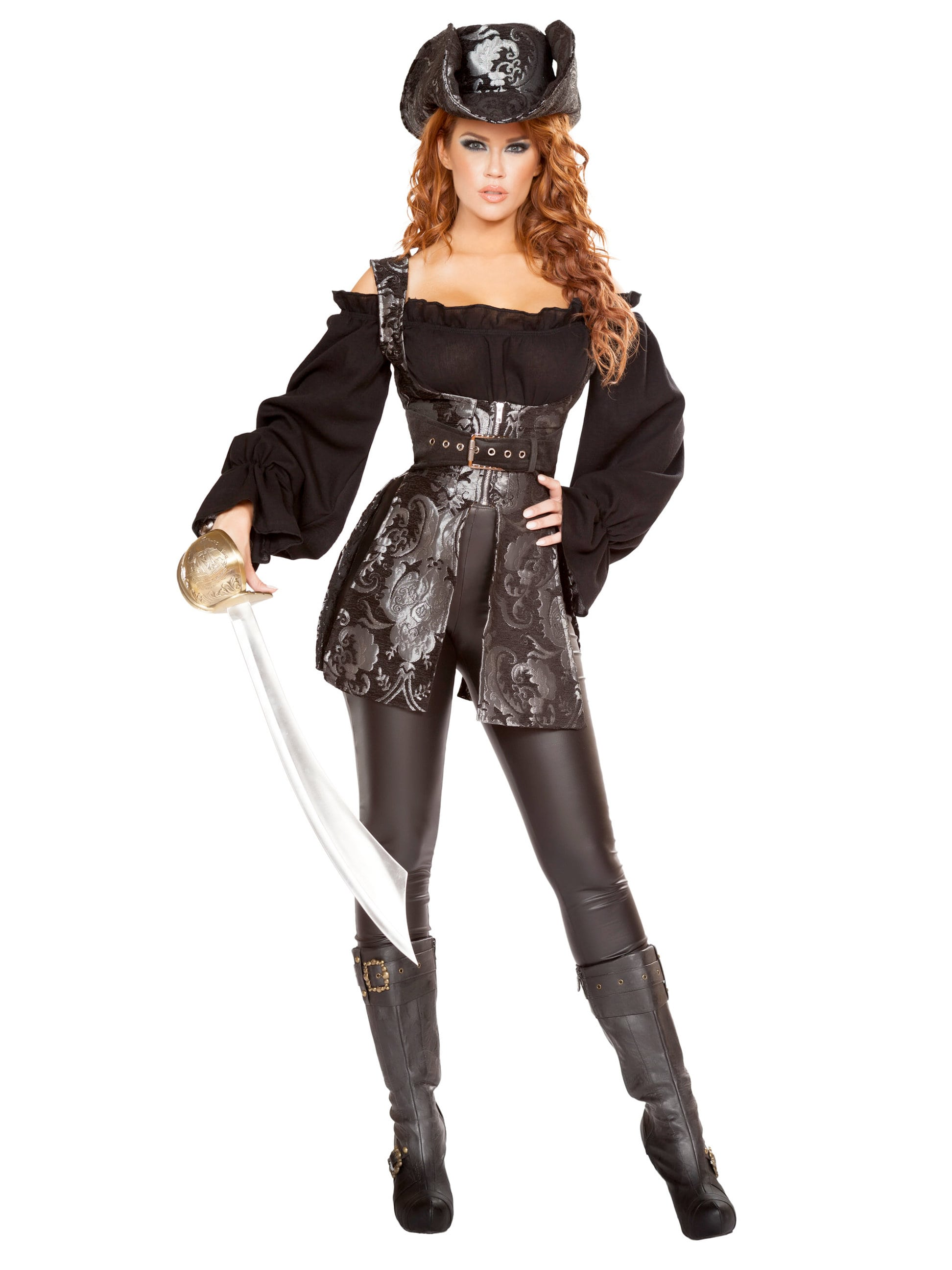 Sexy pirate woman costume
