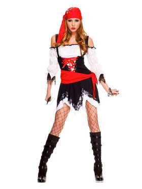 Sexy Pirate Vixen Costume