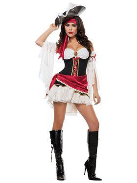 Sexy Pirate's Playmatey Women's Costume