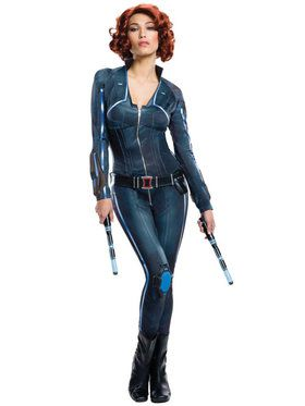 Sexy Plus Black Widow Women's Costume