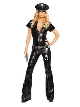 Sexy Police Officer Adult Costume