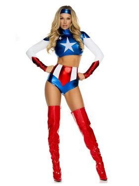Sexy Pretty Patriot Women's Costume
