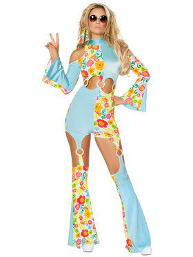 Sexy Radical Hippie Costume