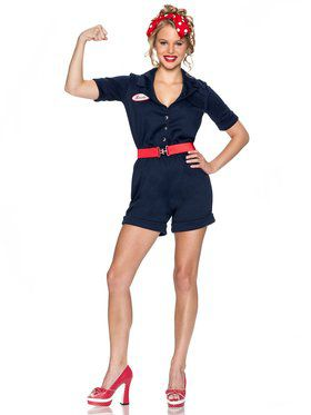 Sexy Riveting Rosie Women's Costume
