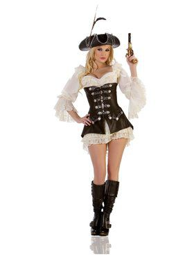 Sexy Rouge Pirate Adult Costume