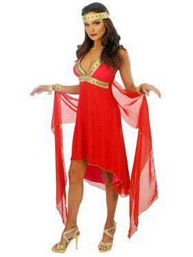 Sexy Ruby Goddess Women's Costume