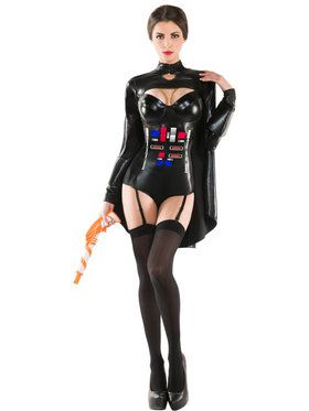 Sexy Ruthless Galactic Empress Women's Costume