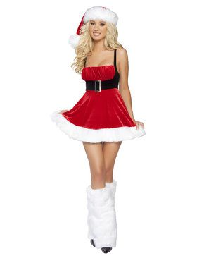 Santa's Envy Costume for Adults