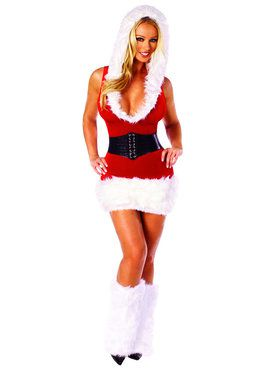 Santa's Model Costume for Adults