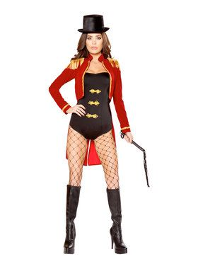 Sexy Sassy Ring Leader Costume
