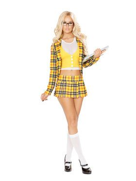 Sexy School Girl without a Clue Costume