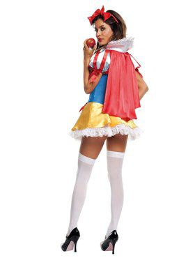 Sexy Sequin Snow White Adult Costume