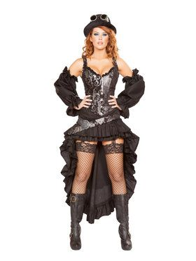 Sexy Steampunk Maiden Costume