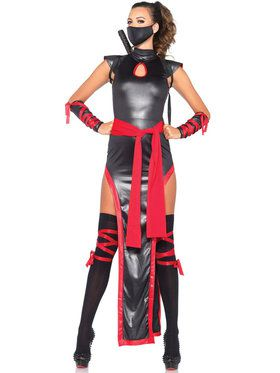 Sexy Shadow Ninja Women's Costume