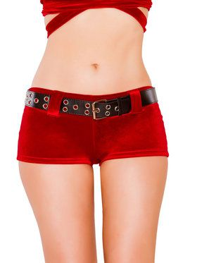 Shorts and Belt for Women