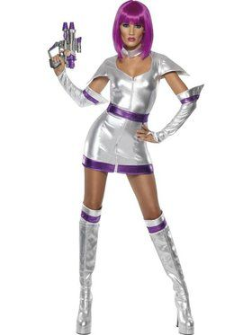 Sexy Space Cadet Women's Costume