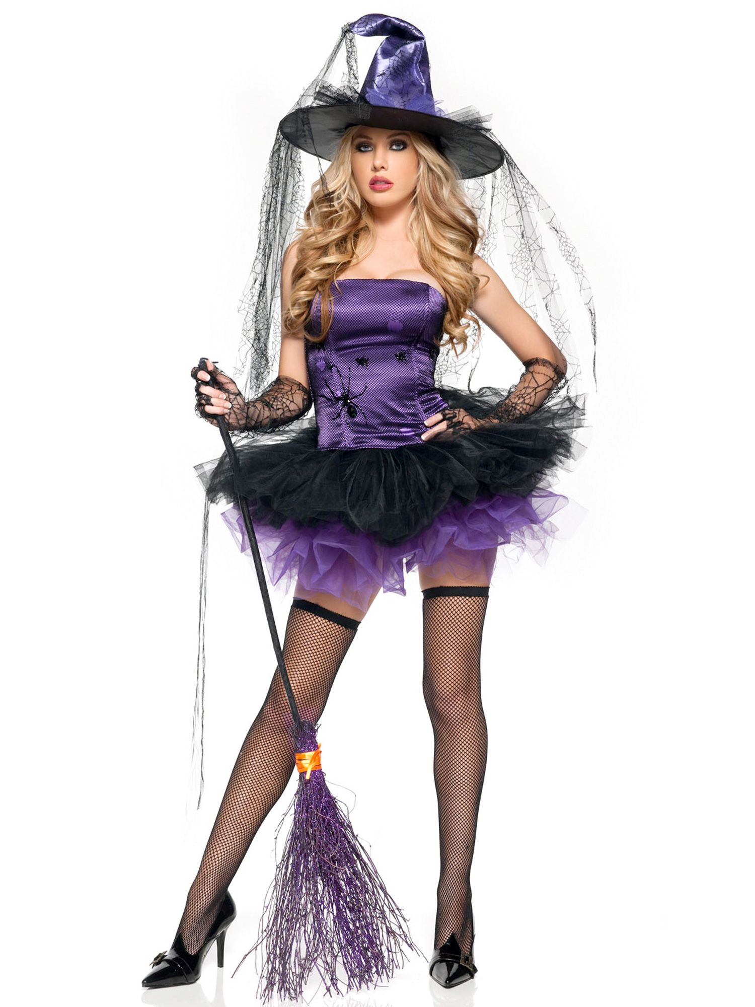Sexy Spider Witch Womens Adult Costume MH0010-S
