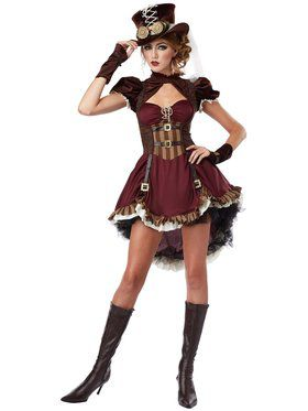Sexy Steampunk Girl Women's Costume