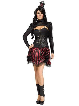Sexy Steampunk Sally Women's Costume