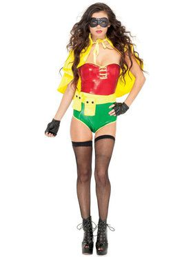 Sexy Sultry Sidekick Women's Costume