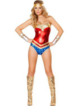 Sexy Superhero Hottie Women's Costume