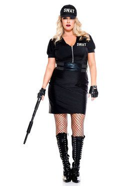 Classic Sexy Swat Agent Costume