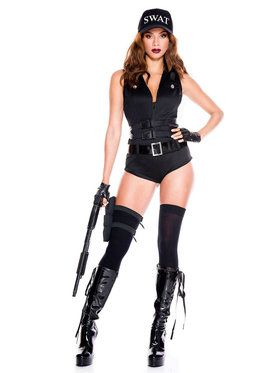 Classic Sexy Swat Hottie Costume