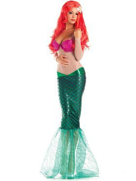 Sexy Sweet Mermaid Womens Costume