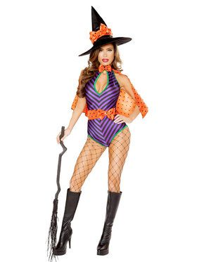 Sexy Sweet Witch Costume