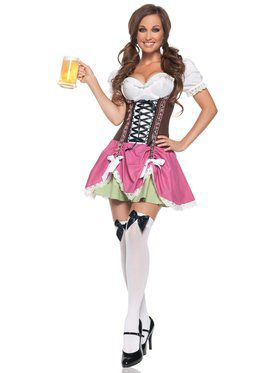 Sexy Swiss Girl Adult Costume