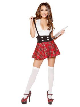 Sexy Teasing School Girl Costume