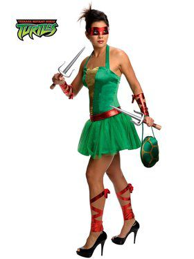 Sexy Teenage Mutant Ninja Turtles Raphael Adult Costume