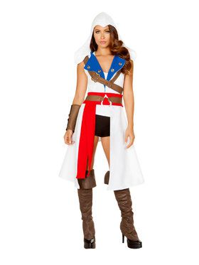 Sexy Classic The Assassins Protector Costume