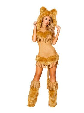 Sexy The Bashful Lion Costume