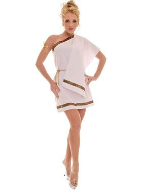 Sexy Toga Female Women's Costume