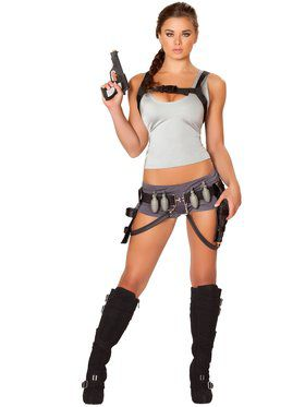 Sexy Treasure Huntress Women's Costume