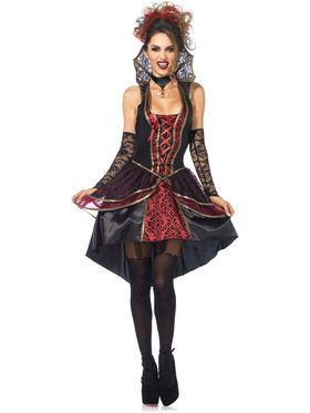 Sexy Vampire Queen Women's Costume