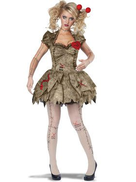 Sexy Voodoo Dolly Women's Costume