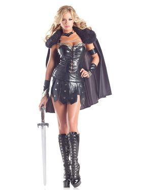 Sexy Warrior Princess Women's Costume