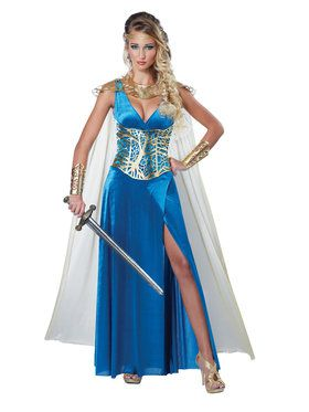 Sexy Warrior Queen Womens Costume